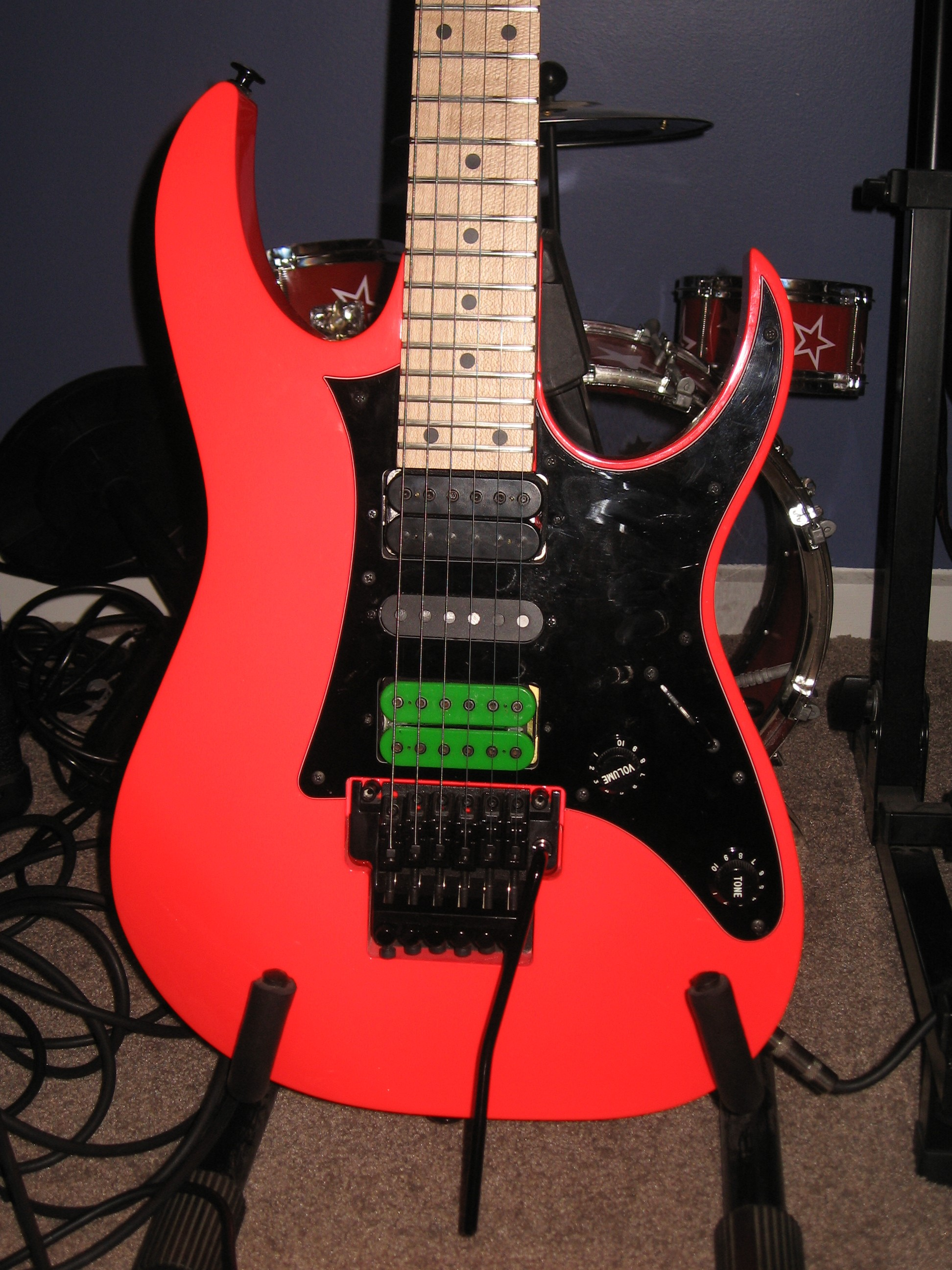 Ibanez RG550 20th Anniversary Reissue with DiMarzio PAF Pro installe